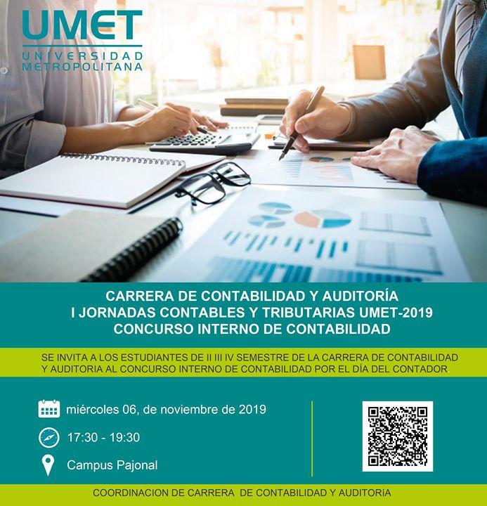 I Jornadas Contables UMET sede Machala