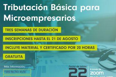 Curso Gratuito de Tributación Básica para Microempresarios