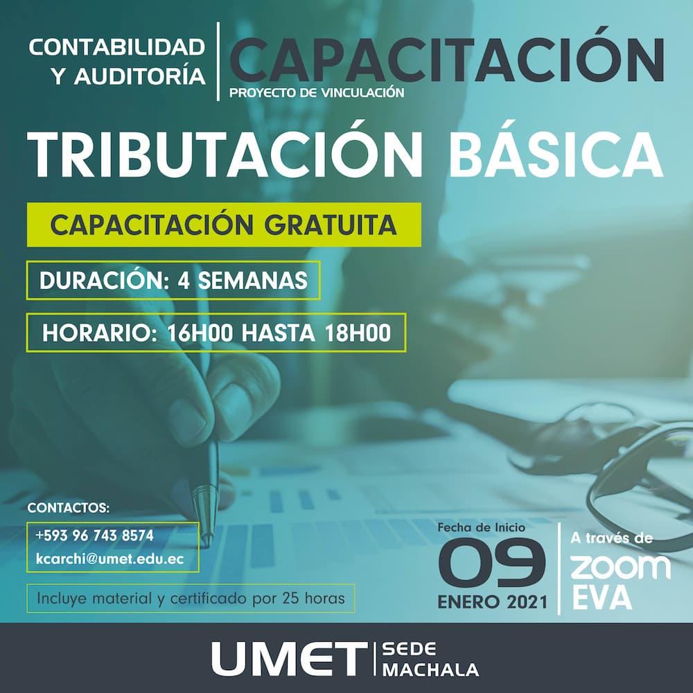Curso Tributacion Basica UMET