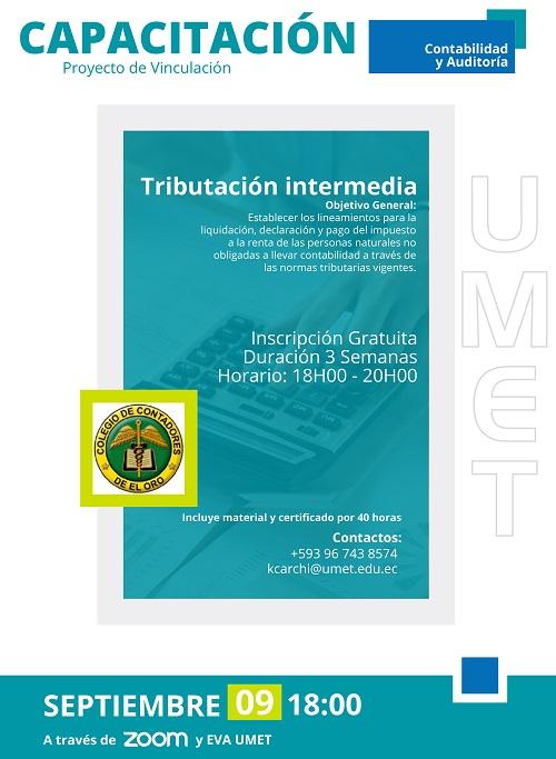 Curso TRIBUTACIÓN INTERMEDIA